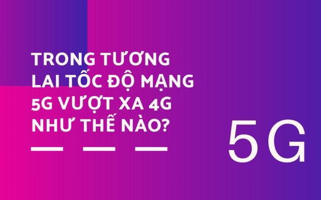 Tốc độ mạng 5G vượt xa trong tương lai như thế nào