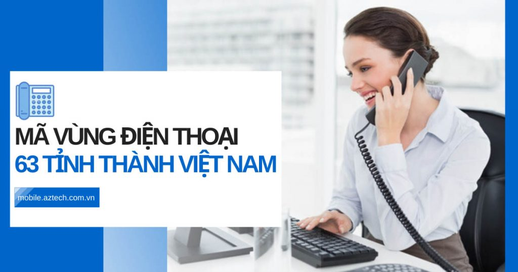 Mã vùng điện thoại Việt Nam