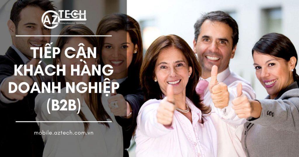 Tìm kiếm và tiếp cận khách hàng doanh nghiệp