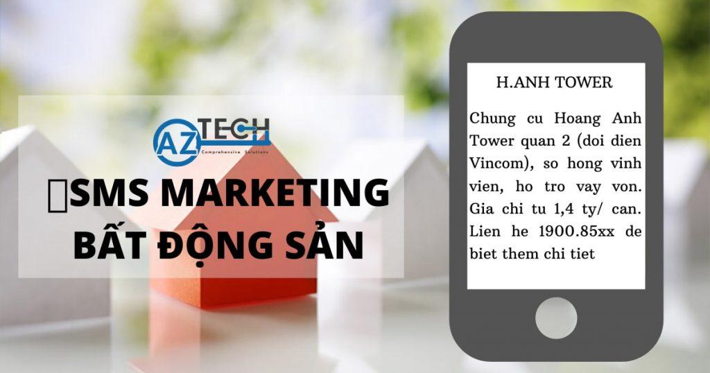 tin nhắn sms marketing bất động sản