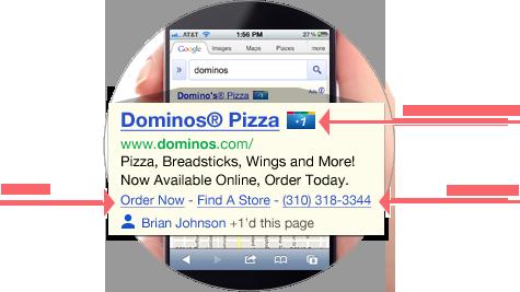mobile marketing - quảng cáo tìm kiếm