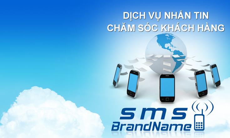 Dịch vụ sms brandname gửi chăm sóc khách hàng