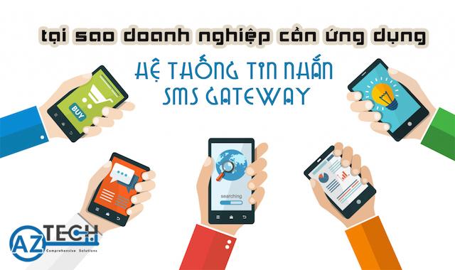 Triển khai hệ thống sms gateway