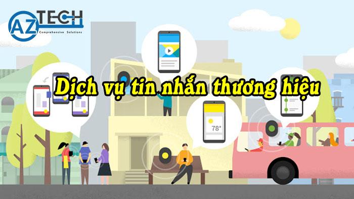 Dịch vụ tin nhắn thương hiệu