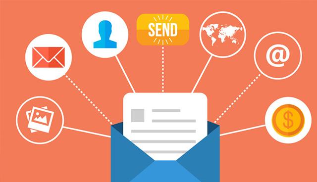 email trên thiết bị di động