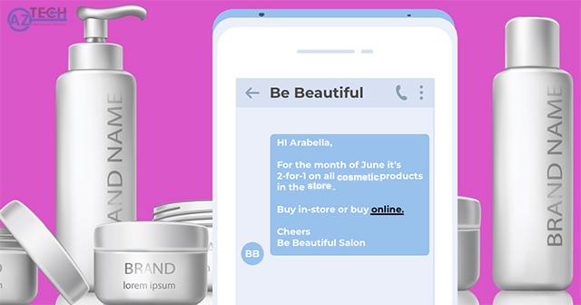 sms marketing ngành mỹ phẩm