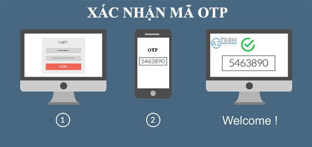 Dịch vụ gửi mã xác thực OTP SMS