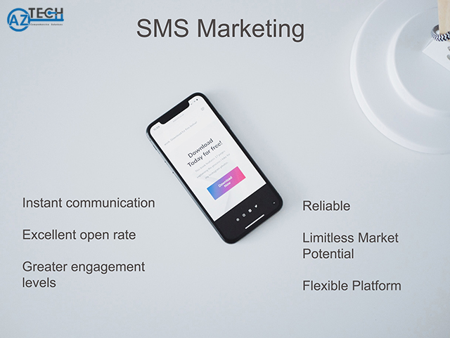 Công cụ mobile marketing SMS