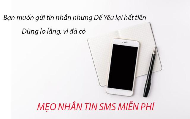 nhắn tin sms miễn phí