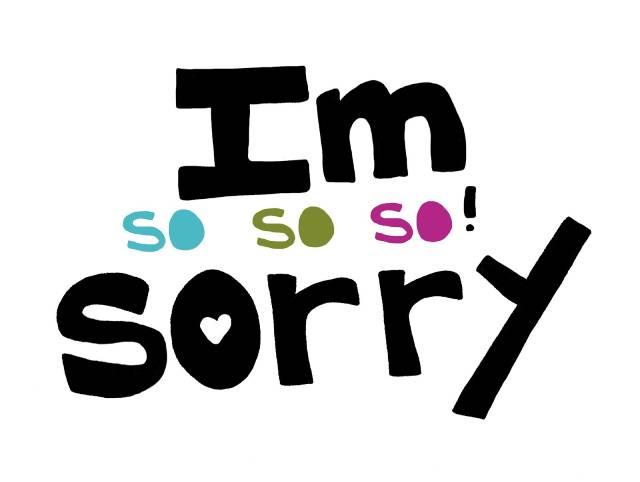 Gửi lời xin lỗi về phản hồi của khách hàng về sản phẩm