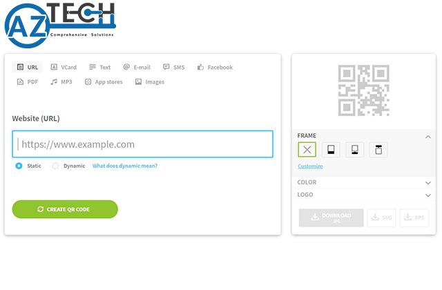 Tạo qr code online cho sản phẩm