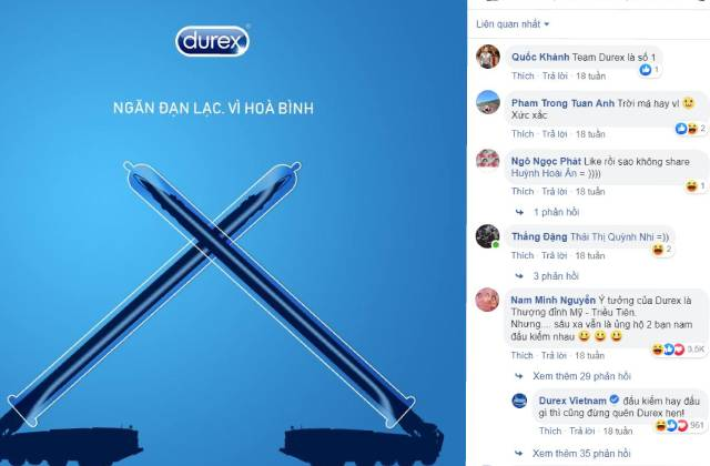 Truyền thông tiếp thị của Durex