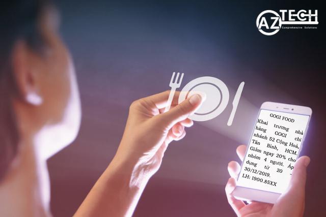 ứng dụng sms marketing cho nhà hàng