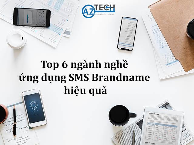 ngành nghề ứng dụng sms brandname