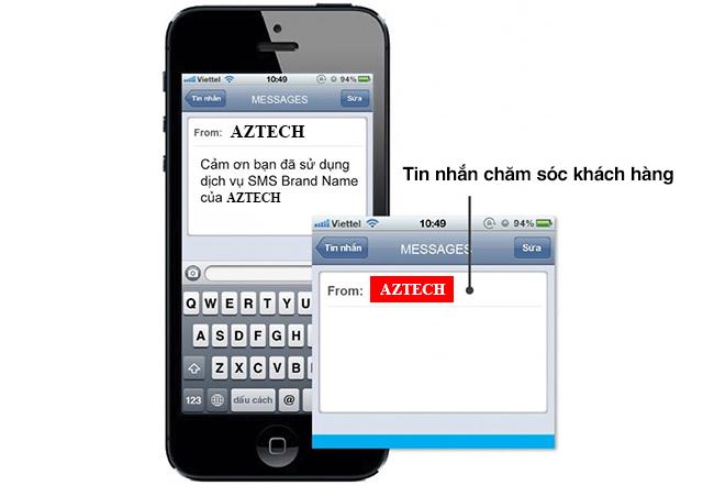 tin nhắn chăm sóc khách hàng là gì