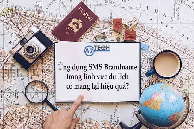 ứng dụng sms brandname trong ngành du lịch