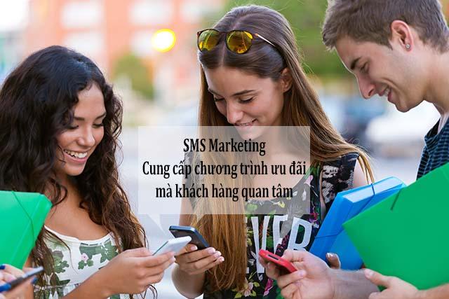 khách hàng từ chối sms marketing