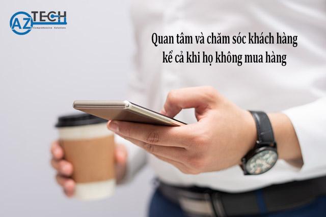 tin nhắn chăm sóc khách hàng cũ
