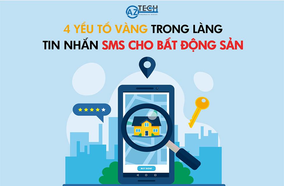sms cho bất động sản