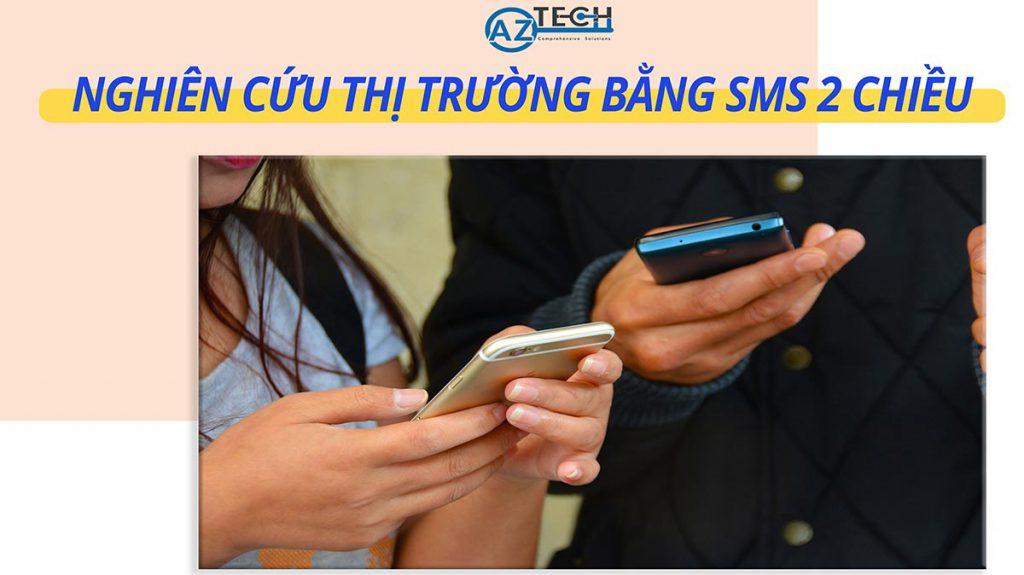 nghiên cứu thị trường bằng sms 2 chiều