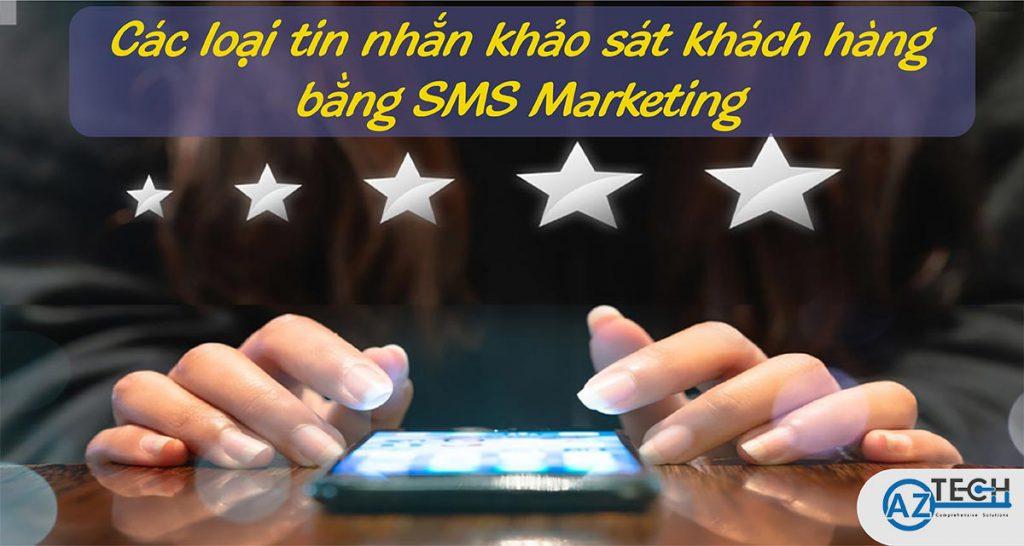 khảo sát khách hàng bằng SMS Marketing