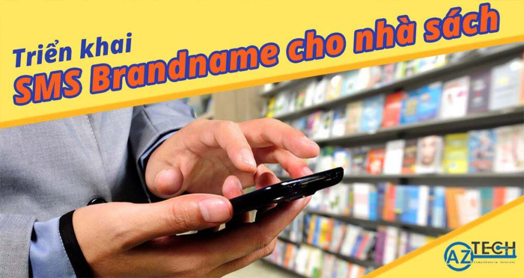 sms Brandname cho cửa hàng sách