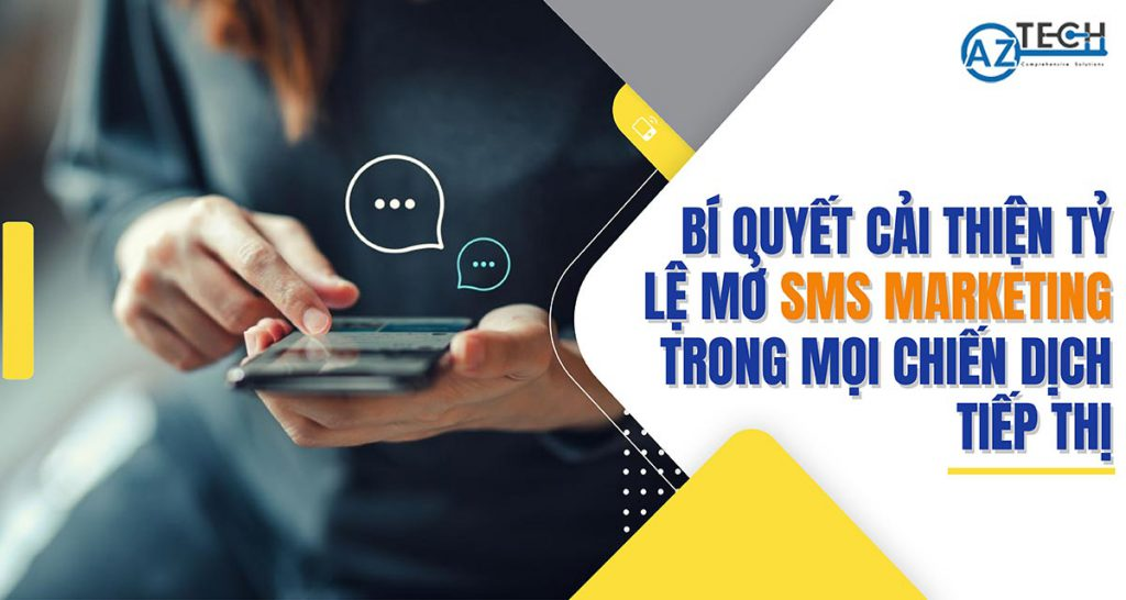 tỷ lệ mở sms marketing