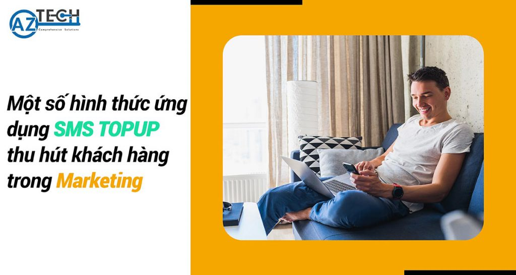 ứng dụng sms topup